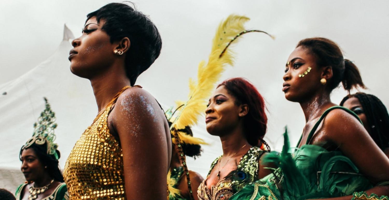 Tänzerinnen beim Igue-Fest, Nigeria (c) Lutz Mükke