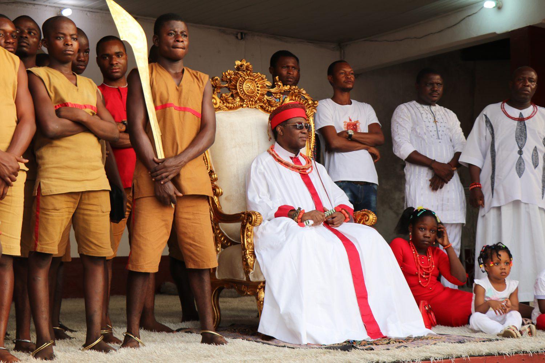Der König von Benin, Benin City, Nigeria (c) Lutz Mükke