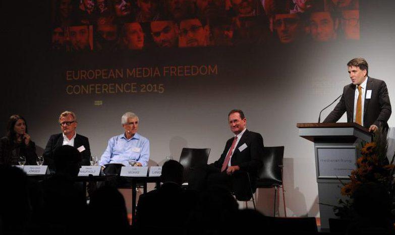 European Media Freedom Conference 2015 (c) ECPMF